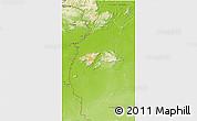 Physical 3D Map of IX-1 Rupununi West