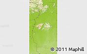 Physical Map of IX-1 Rupununi West