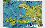 Satellite 3D Map of Haiti