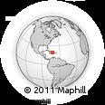 Outline Map of Artibonite