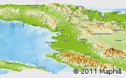 Physical Panoramic Map of Artibonite
