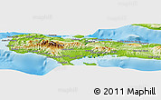 Physical Panoramic Map of Grand-Anse
