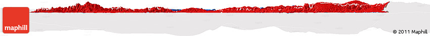 Flag Horizon Map of Haiti