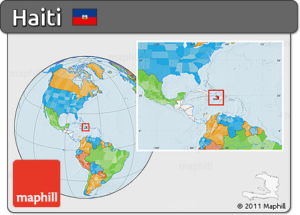 Free political location map of haiti highlighted continent within political location map of haiti highlighted continent within the entire continent gumiabroncs Images