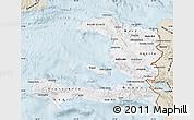 Classic Style Map of Haiti