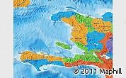 Political Map of Haiti