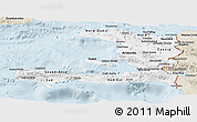 Classic Style Panoramic Map of Haiti