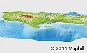 Physical Panoramic Map of Sud
