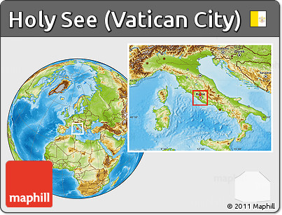Holy See Map Images - Holy see map hd