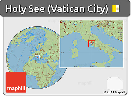 Free savanna style location map of holy see vatican city savanna style location map of holy see vatican city gumiabroncs Gallery
