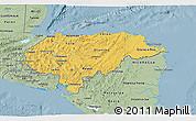Savanna Style 3D Map of Honduras