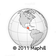 Outline Map of Tela