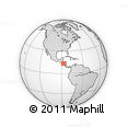 Outline Map of Marcovia