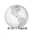 Outline Map of Orocuina