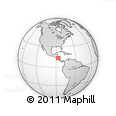 Outline Map of Choluteca