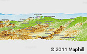 Physical Panoramic Map of Colon