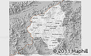 Gray 3D Map of Copan