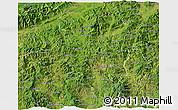 Satellite 3D Map of Copan