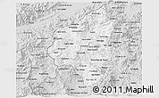 Silver Style 3D Map of Copan