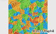 Political Map of Copan