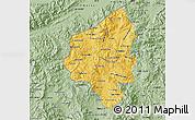 Savanna Style Map of Copan