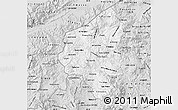 Silver Style Map of Copan