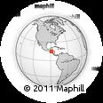 Outline Map of Santa Rosa De Copan
