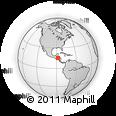 Outline Map of Potrerillos
