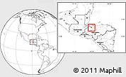 Blank Location Map of San Manuel