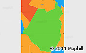 Political Simple Map of Maraita