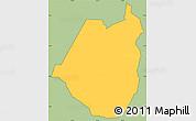 Savanna Style Simple Map of Maraita, cropped outside