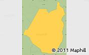 Savanna Style Simple Map of Maraita