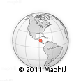 Outline Map of Francisco Morazan