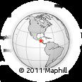 Outline Map of Magdalena
