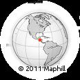 Outline Map of Yamaranguila