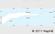 Silver Style Simple Map of Jose Santos Guardiola