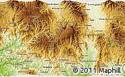 Physical 3D Map of La Paz