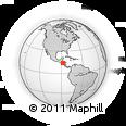 Outline Map of Guajiquiro