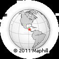 Outline Map of La Paz