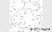 Blank Simple Map of La Paz