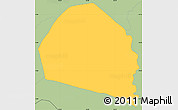 Savanna Style Simple Map of Candelaria