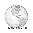 Outline Map of Mapulaca