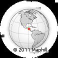 Outline Map of San Rafael
