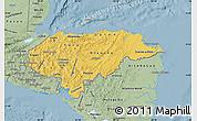 Savanna Style Map of Honduras