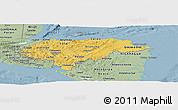 Savanna Style Panoramic Map of Honduras