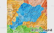 Political Shades Map of Paraiso