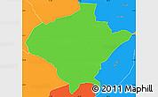 Political Simple Map of Texiguat