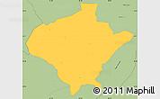 Savanna Style Simple Map of Texiguat