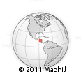 Outline Map of Vado Ancho