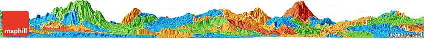 Political Horizon Map of Santa Barbara